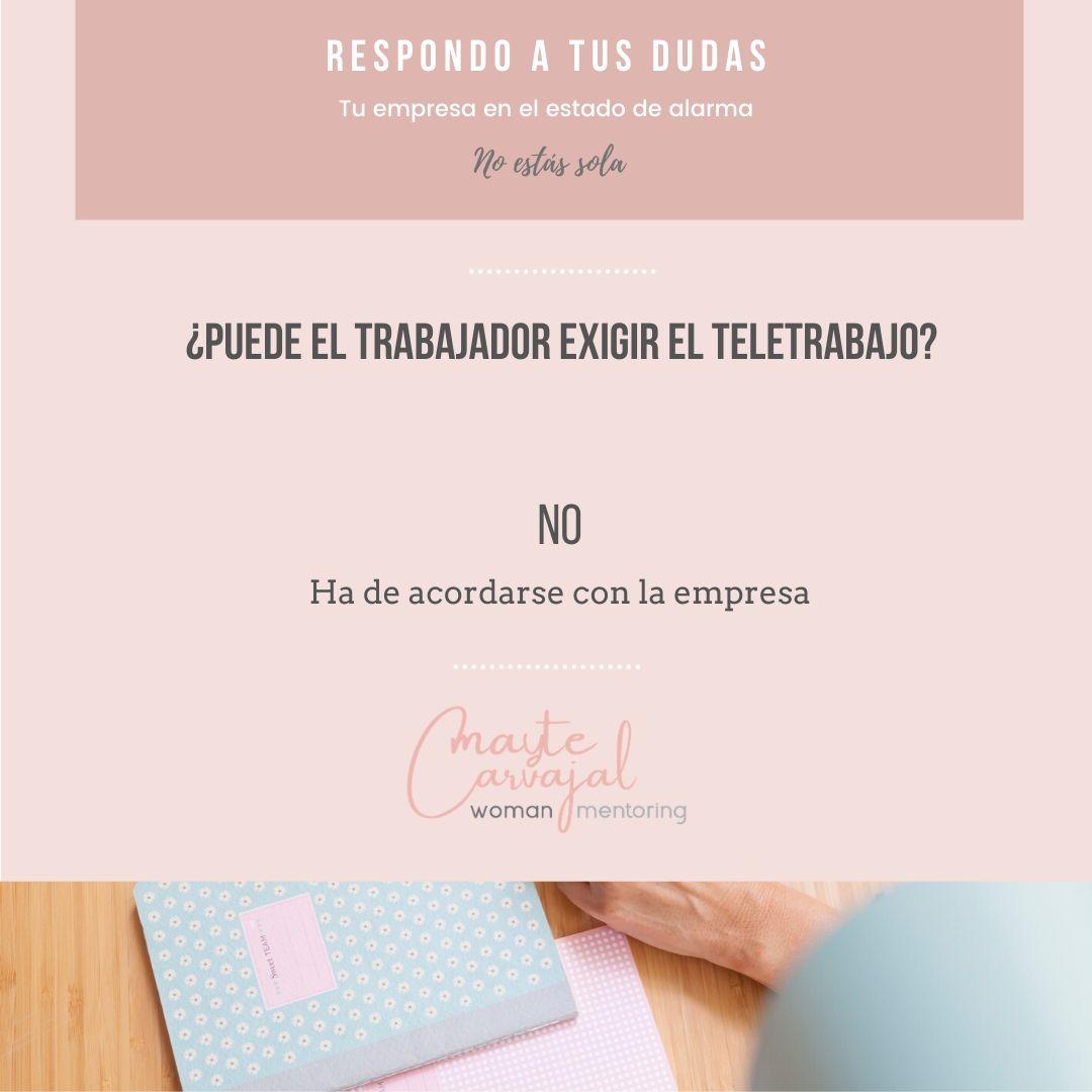 Respuestas sencillas sobre el Estado de Alarma  - Mayte Carvajal - Woman Mentoring