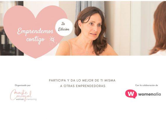 Colabora en la 2ª edición de EMPRENDEMOS CONTIGO - Mayte Carvajal - Woman Mentoring